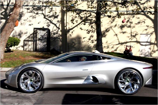 2013 Jaguar C-X75 Hybrid Supercar