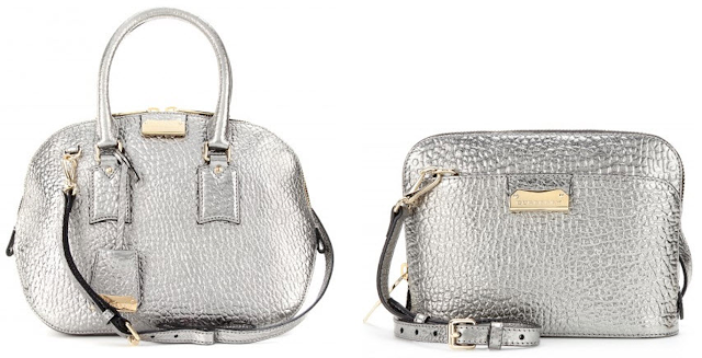 Burberry Metallic Bag FW13/14