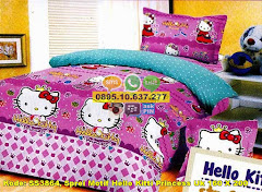 Harga Sprei Motif Hello Kitti Princess Uk 160 X 200 Jual