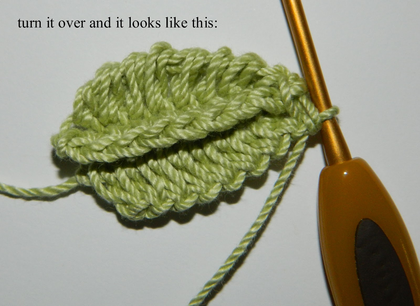 Free Crochet Pattern For Hemp Leaf : lauras frayed knot: crocheted leaf