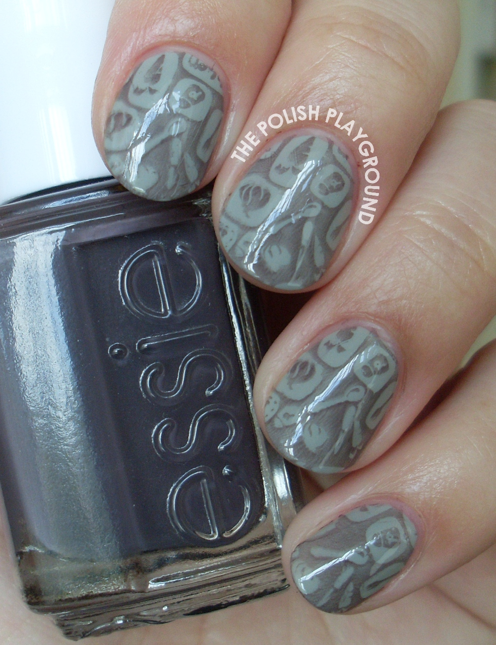 Fun in the Kitchen Stamping Nail Art