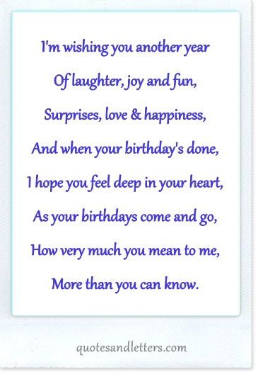 Happy Birthday Love Quotes For Boyfriends