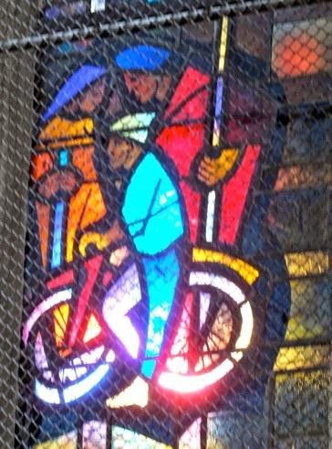 Pélerin à bicyclette