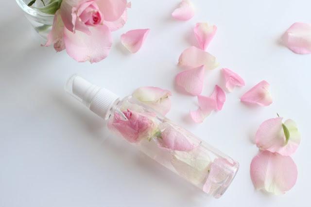DIY Rose Water Facial Mist