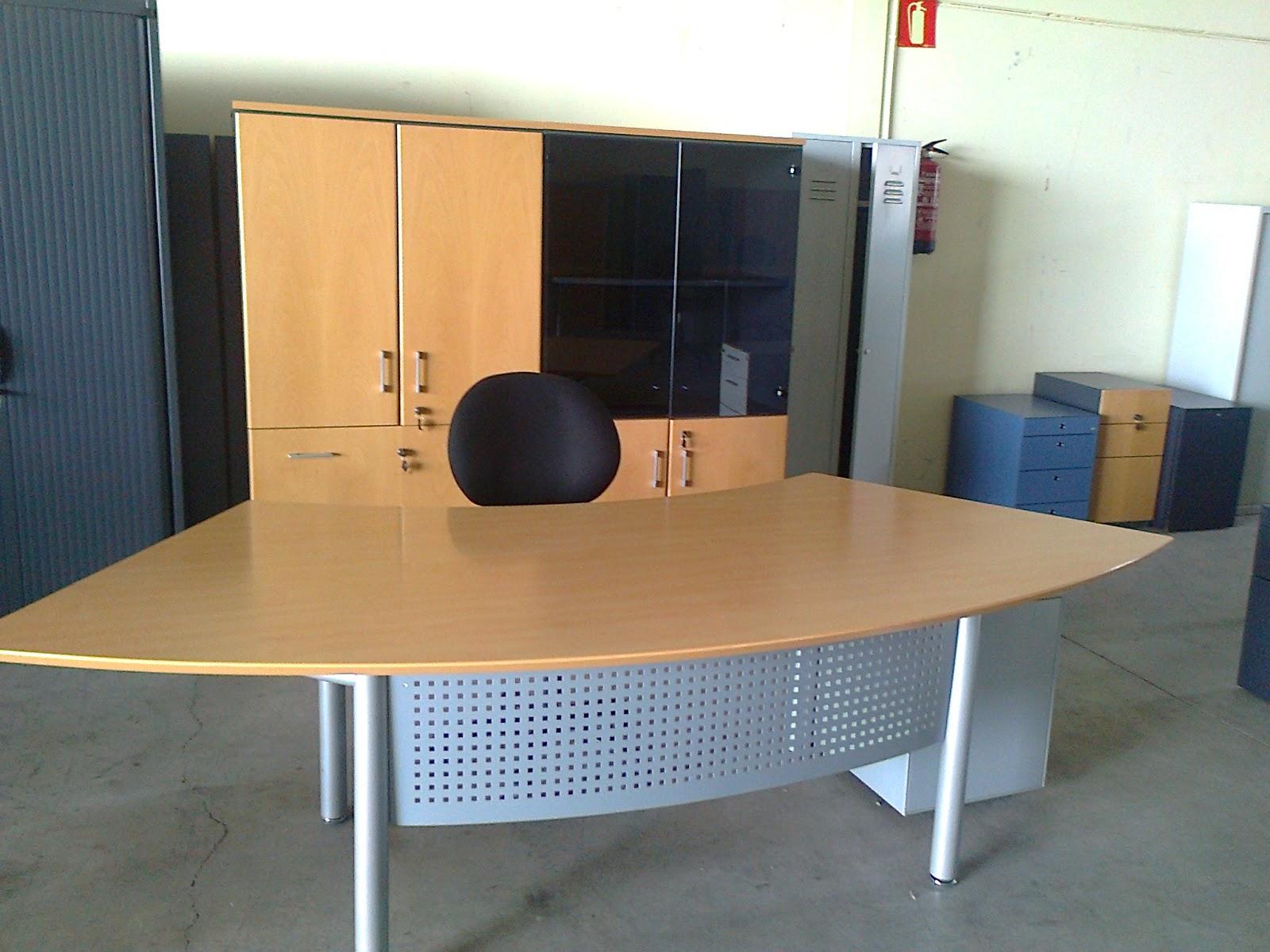 Estanter as met licas y muebles de oficina mobiliario de - Mobiliario oficina ocasion ...