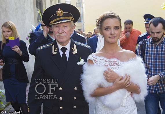 24-Year-Old Russian Girl Marries 84-Year-Old Man