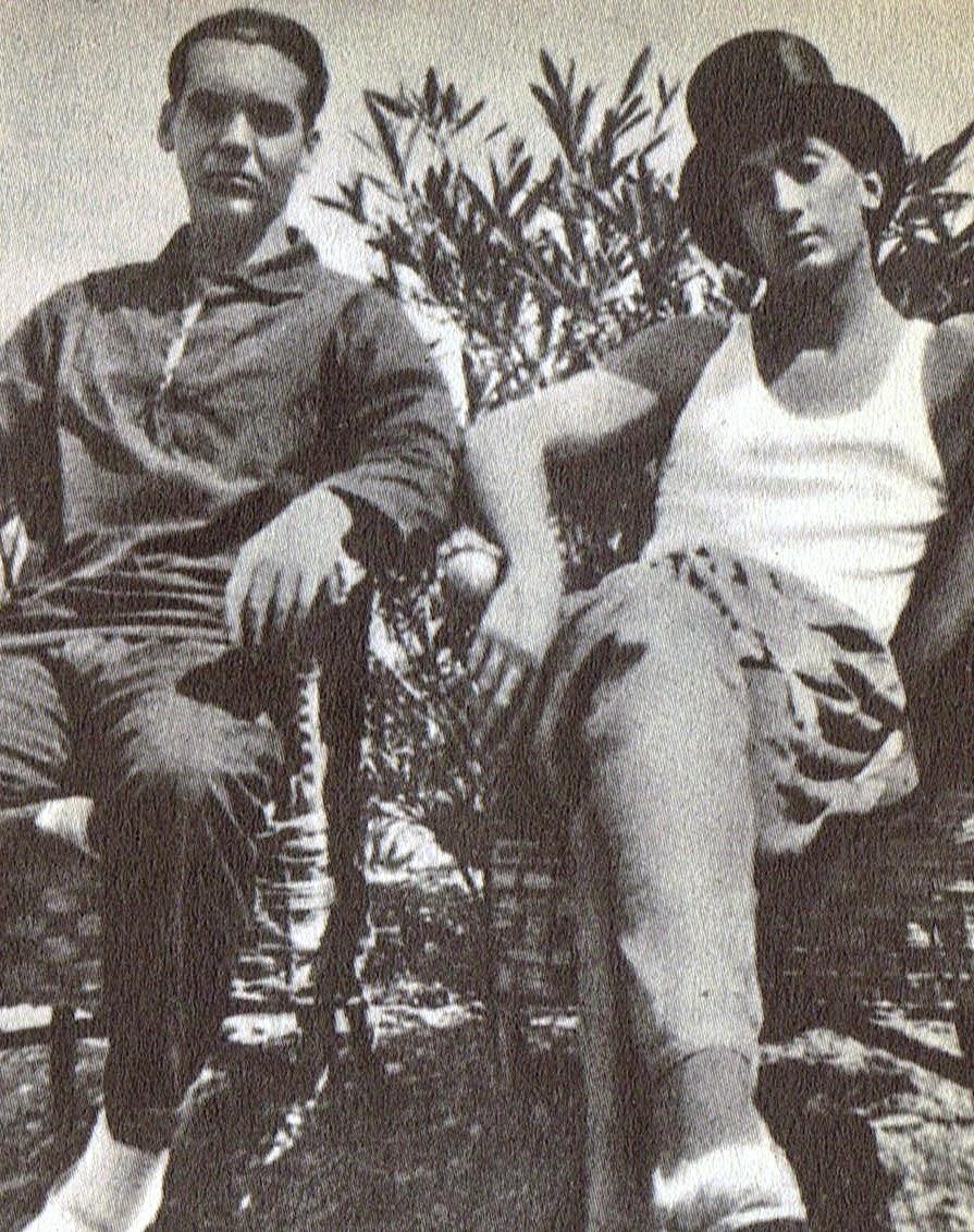 Lorca y Salvador Dali