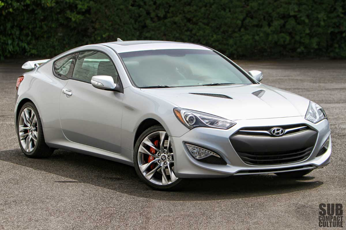 2013 Hyundai Genesis Coupe 3.8 Track Review   Subcompact Culture