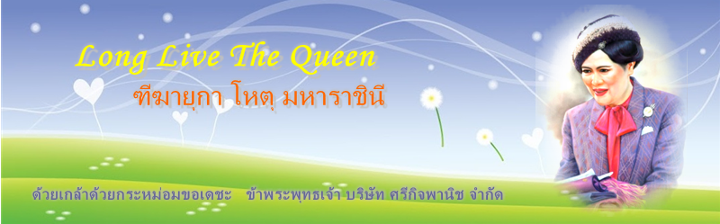 queen sirikit banner