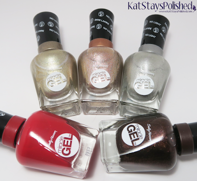Sally Hansen Miracle Gel Winter 2015 | Kat Stays Polished
