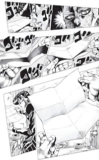 JoJo part 4 opening letter from Enigma.