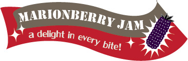 Marionberry Jam Label