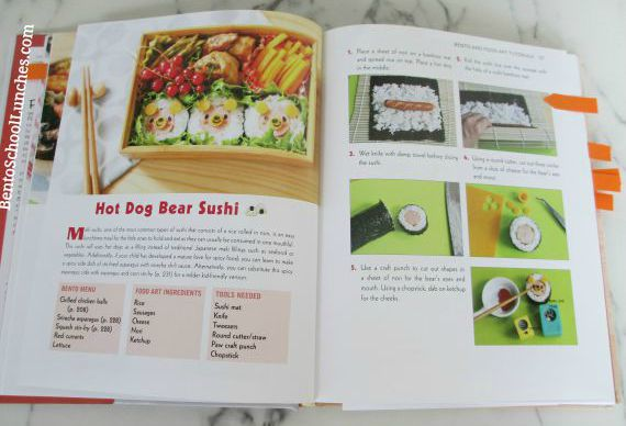 Yummy Kawaii Bento Book Review, Bento School Lunches