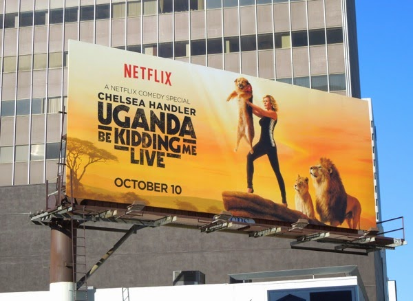 Chelsea Handler The Lion King parody Netflix billboard