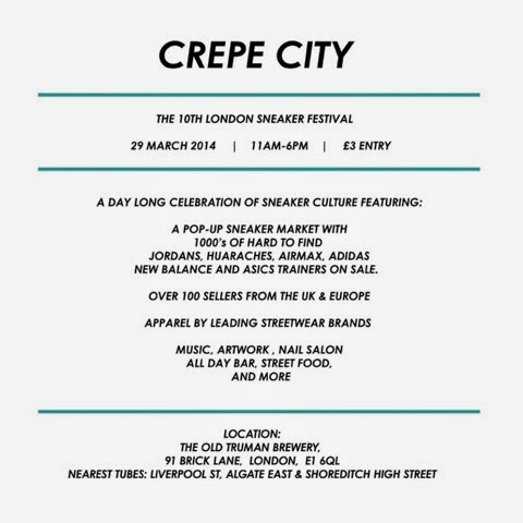 crepe city london 10 uk sneaker festival events sneaker collectors