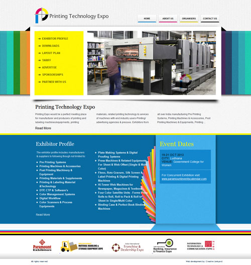 Printing Website design