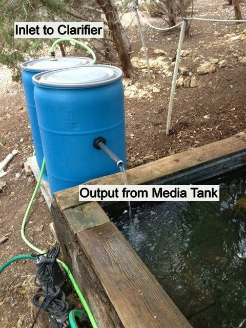 Farm natters diy duck goose dog pond filter system for Keeping ponds clean without filter