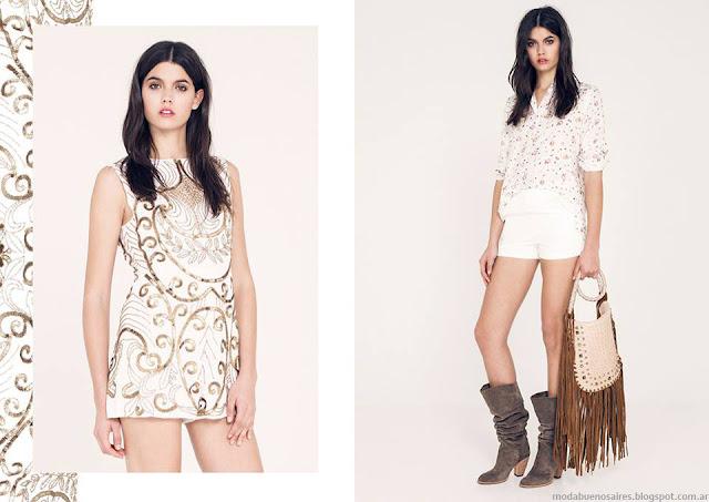 Ropa de moda verano 2016 Ossira vestidos.