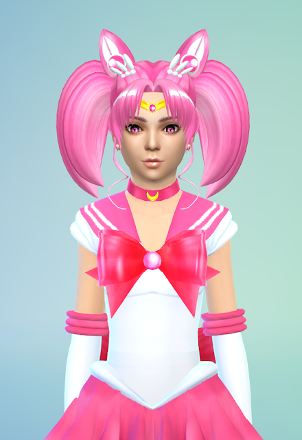 Sims 4 sailor chibi moon child version