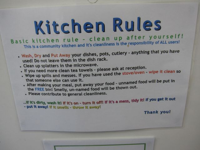 Office Kitchen Rules Pictures to Pin on Pinterest - PinsDaddy