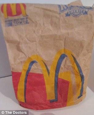 McDonald's Burger bleibt nach 14 Jahren intakt.