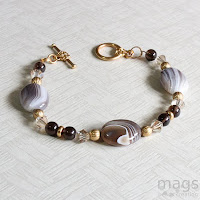 Earth Tone Jewelry by MagsBeadsCreation
