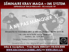 SMINAIRE / KRAV MAGA QUBEC / DIMANCHE 13 NOVEMBRE 2011 (fini)