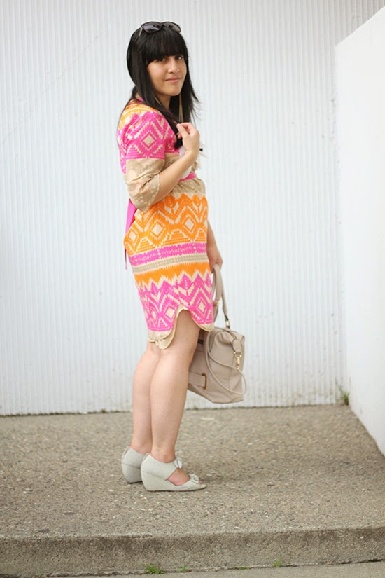 Tribal Print Resort Dress