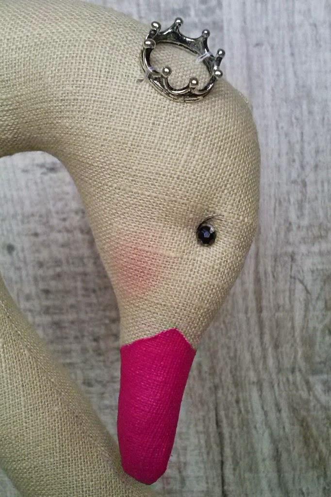 лебедь, принцесса, принцессалебедь, тильда лебедь, выкройка лебедь тильда,розовый лебедь,