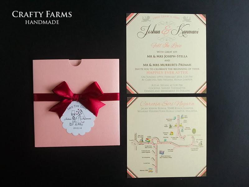 Wedding cards for wedding held at Carcosa Seri Negara, Kuala Lumpur, Malaysia