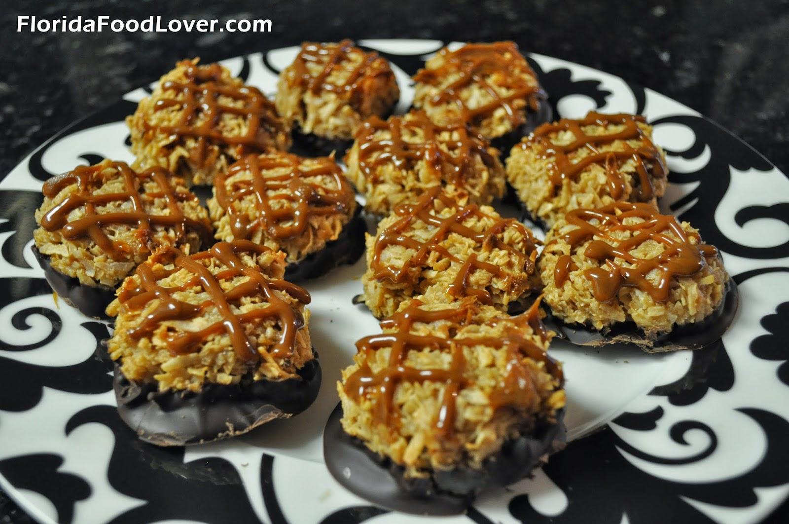 Salted Caramel Coconut Macaroons | Florida Food Lover