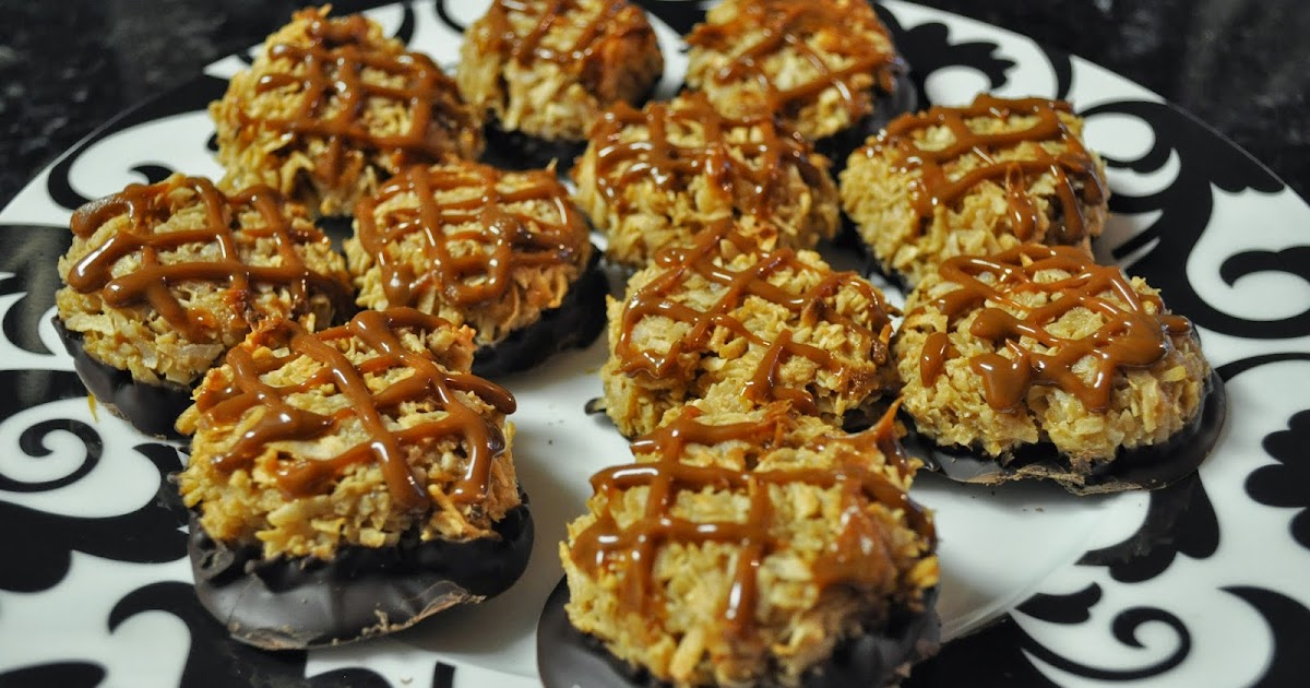 Florida Food Lover: Salted Caramel Coconut Macaroons