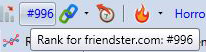 Friendster Rank