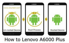 How to Root Lenovo A6000 Plus with image guide