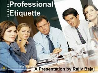 Professional Workplace Etiquettes PPT Download