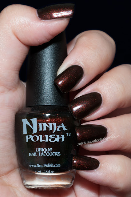 Ninja Polish 100% Colombian Enigma Collection