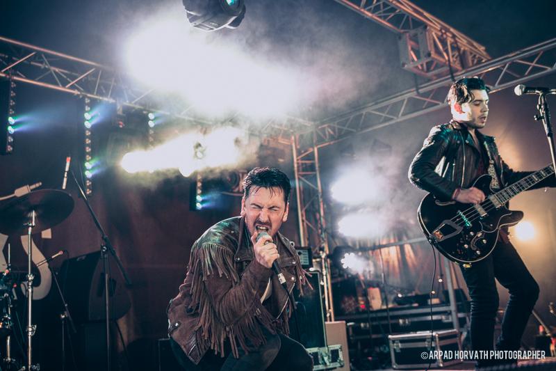 glasgow music photographer tijuana bibles isle of wight festival 2015