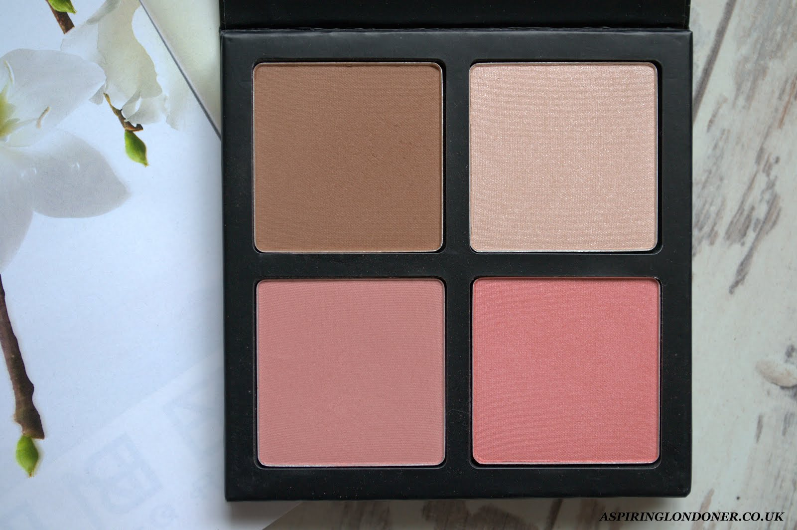 Collection Blush & Glow Palette Review+Swatch - Aspiring Londoner