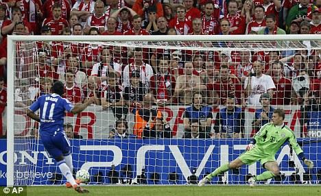 Penalti Drogba di Liga Champions