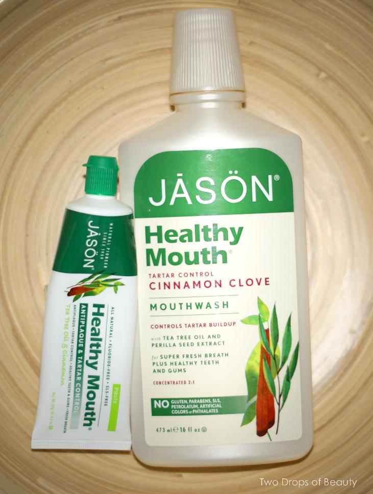 Jason mouthwash, toothpaste, cinnamone clove, зубная паста, полость рта, гигиена