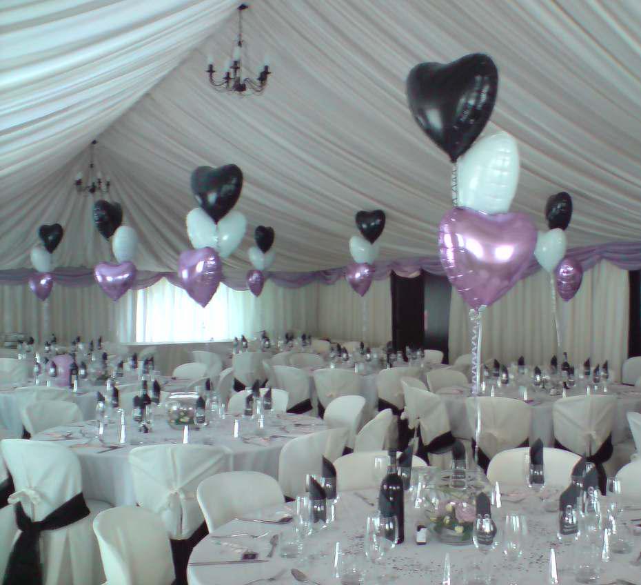 Balões em Casamento Será!? Manná Noivas Ideias e Dicas  -> Decoração Balões Casamento