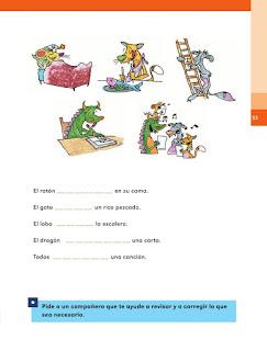 Apoyo Primaria Español 1er grado Bimestre 2 lección 4 ¿Cómo se llaman?