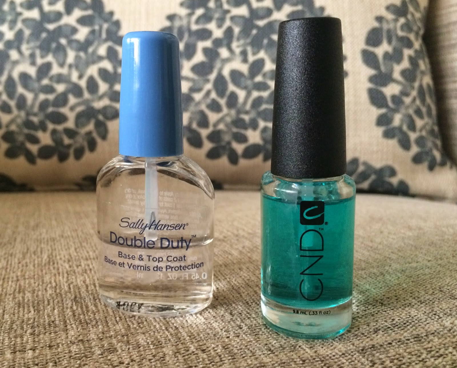 Sally Hansen S Double Duty Base Top Coat And Cnd Stickey