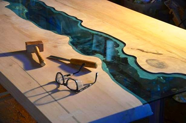 The River and the Lake — Greg Klassen liquid Furniture