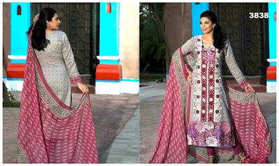 Summer Embroidered Lawn Fashion For Girls