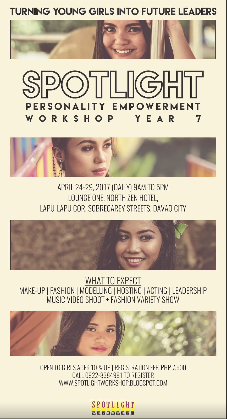 Spotlight Personality Empowerment Workshop for Teens SEASON 7