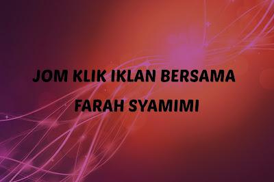 SEGMEN: JOM KLIK IKLAN BERSAMA FARAH SYAMIMI