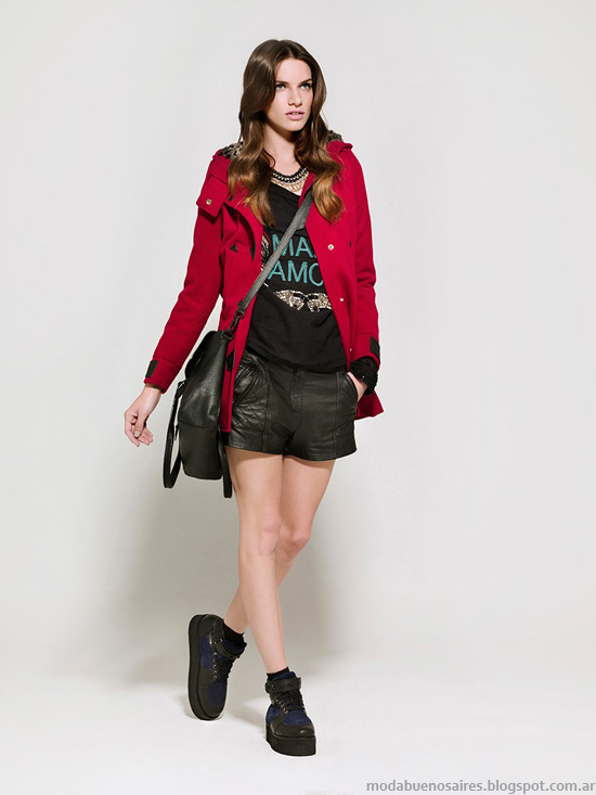 Moda otoño invierno 2014 Kosiuko moda 2014 camperas.