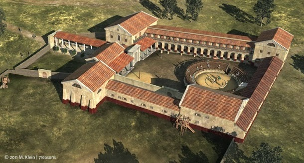 Descoberta antiga escola de gladiadores na Áustria (com video)