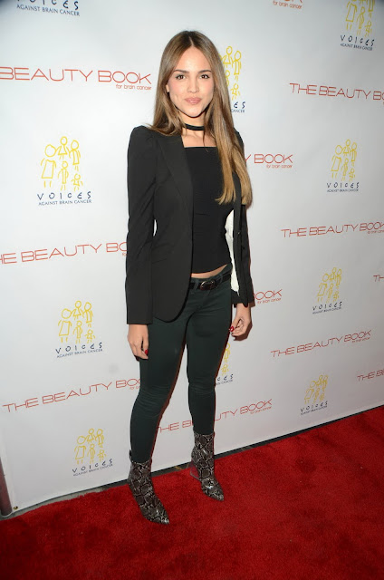 Actress, Singer, @ Eiza Gonzalez - The Beauty Book For Brain Cancer Edition Two launch party in LA